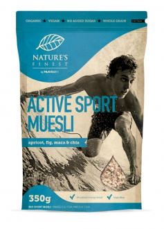 """Nature`s Finest"" Bio Active Sport Müsli, 350 g"