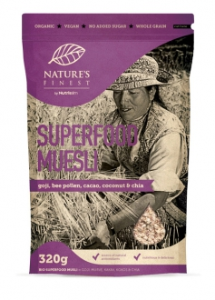 """Nature`s Finest"" Bio Superfood Müsli, 320g"