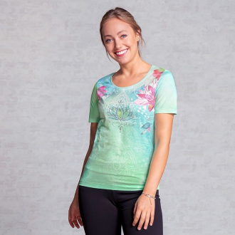 The Spirit of OM Shirt Waterlily